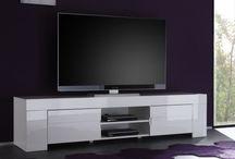 Meuble TV laqué et moderne / Pour les mordus de déco, accrodesign se plie en 4 pour vous proposer une jolie gamme de meubles TV laqués design ou meubles TV modernes au meilleur rapport qualité /  prix