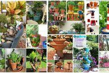 Terracotta potten crafts