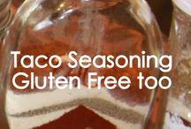 seasonings and mixes / by Shari Franco