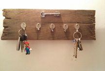 colgador llaves