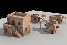 desert houses