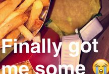 •Snapchat food•