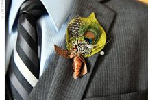 Boutonnieres / Wedding day flowers for Grooms, Fathers and wedding party