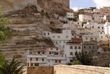 Castilla la Mancha / Ciudades, pueblos y paisajes