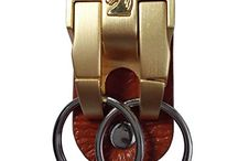 Genuine Cow Leather Belt Keychains / This is a kind of key rings, the special point is that, it can wear on your belt directly, and detachable, you will never worried that you will lost your keys, or leave it behind when you close your door, shut down your cars! It's a nice gift choice for father, business partner, and other friends in special day, as it's good quality but cheap price!