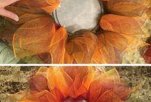 coronas flores en alambre