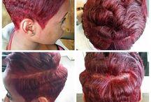 short hair rock