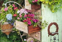 Outside Adorable! / This is one of my favorite boards!  I find myself dreaming of creating these lovely ideas for fantastic gardens and yards!  Ahhh!  I hope you enjoy them, too!