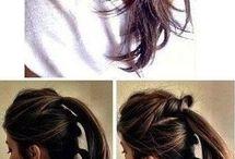włosy fryzury