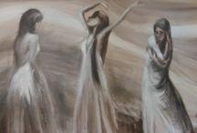 Vy's paintings / Dipinti olio su tela