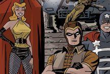Super Hero Stuff / Bring it on bad guys!