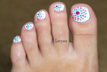 Toe Nail designs / by Kathie B