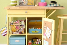 Home: Craft room and office / by Brandy Marie