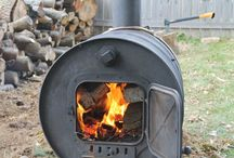 barrel drum stove heater
