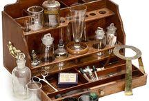 Vintage scientific equipment
