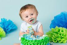 Lucas smash cake ideas