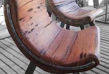 bancos sillas