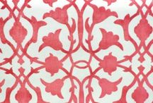 upholstery fabric: floral