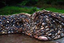 Natural stone walls