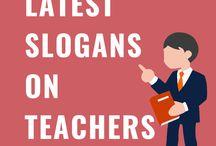 Latest Slogans On Teachers Day