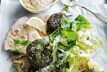 Falafel / On this board you will find everything related to falafel: healthy baked falafel, fried falafels, vegetarian falafel, vegan falafel, and ideas on what to combine your falafel with. Enjoy!