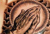 mãos orando