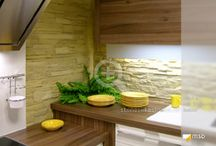 Küche und Bad mit MSD-Steinpaneelen