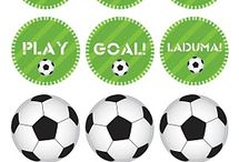 Soccer ball party decoration