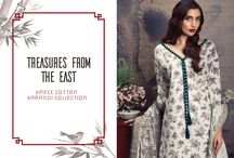 Treasures From The East   3 Piece Cotton Karandi Collection