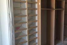 Closets / Some of our custom closets