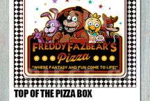 Five Nights At Freddy's Party / Five Nights At Freddy's Printable's. For more information visit my shop http://etsy.me/1KEiqxF