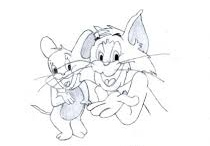 Tom & Jerry Cartoon Photo