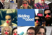 BiddingForGood supports Red Nose Day! / The BiddingForGood Team supports Red Nose Day! https://www.rednosedayusa.org/ / by BiddingForGood Online Fundraising