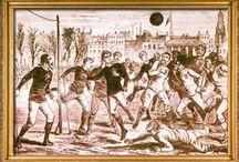 Футбол / Замечательная игра с мячом имеет многовековую историю. Главной задачей в ней является забить наибольшее число голов, чем твой соперник.