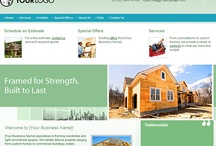 Website Designs for Framing Contractors / Professional Websites for Framing Contractors. Web Start Today helps you create a great impression on your prospects and customers with professional websites designed specifically for Framing Contractors. Our easy to use Website Builder allows you to build a well-constructed, effective online presence in no time at all. / by Web Start Today, Inc.