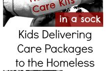 Help the Homeless / Ideas for families and kids to help the homeless or people in need in your community. From acts of kindness to service projects, there is something that each of us can do to have empathy for those in some of the hardest of life's situations.
