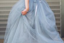 Tulle skirt gown