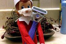 "O"" Elf on the Shelf"