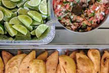 Colombian meals
