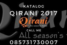 Katalog Gamis Qirani 2017 / agenqirani.com merupaka produsen busana muslim terlengkap di Indonesia. Pemesanan busana muslim trendy dan syar'i hubungi   Nanda CS 1 Qirani  :  SMS: 0857-3173-0007 Whatsapp: +6285731730007 BBM: 536816F7