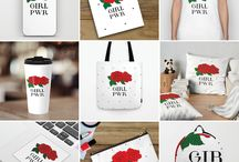 Home decor, accessories... / Home decor, Iphone skin/case, notebook, t-shirts, tank, mug, pillow, bag, sticker, pouch, backpack, clock, duvet.