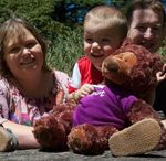 Ted-E-Bear friends / Ted-E-Bears with their very special friends!