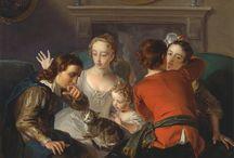 Philippe Mercier (1689 - 1760) / Art from France.