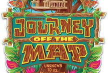 journey off  map-(sc 3) 2016 / by Kendra Singer