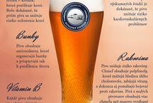 Pivné infografiky / Zaujímavosti o pive, ktoré ste (ne)vedeli