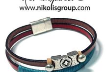 Fashion for men! / handmade jewellery for men!discover ideas and find new materials on our eshop! / by Nikolis Group