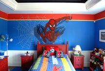 Pókemberes gyerekszoba