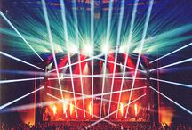 Stages: lights & design / Listen but also see...