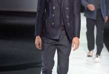 Giorgio Armani Men's RTW Spring 2014