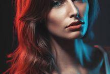 Портрет в два цвета